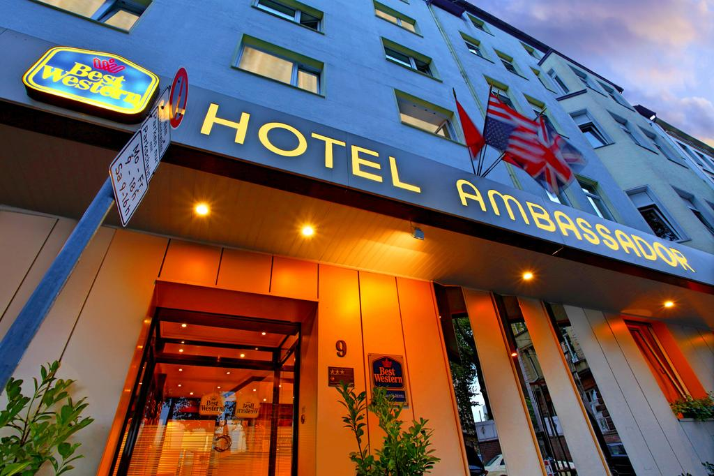 Best Western Ambassador Hotel Dusseldorf Germany Flyin Com